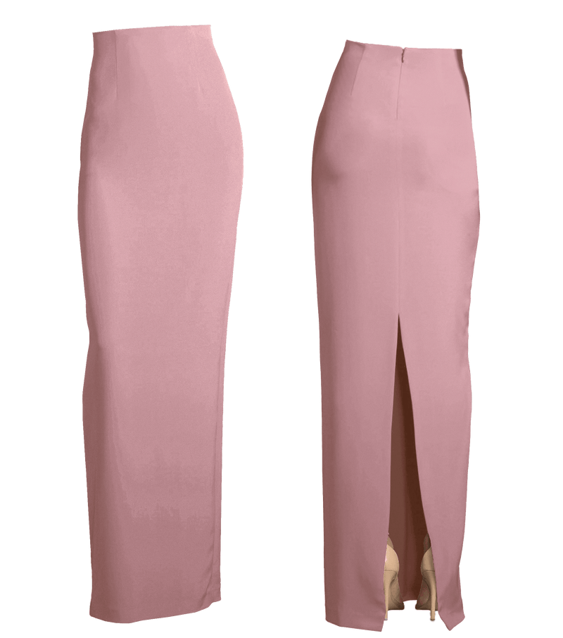 Basic Column Gown Skirt