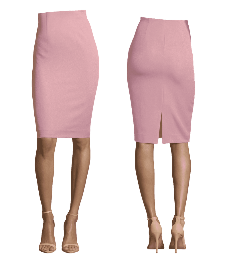 Basic Pencil Length Skirt