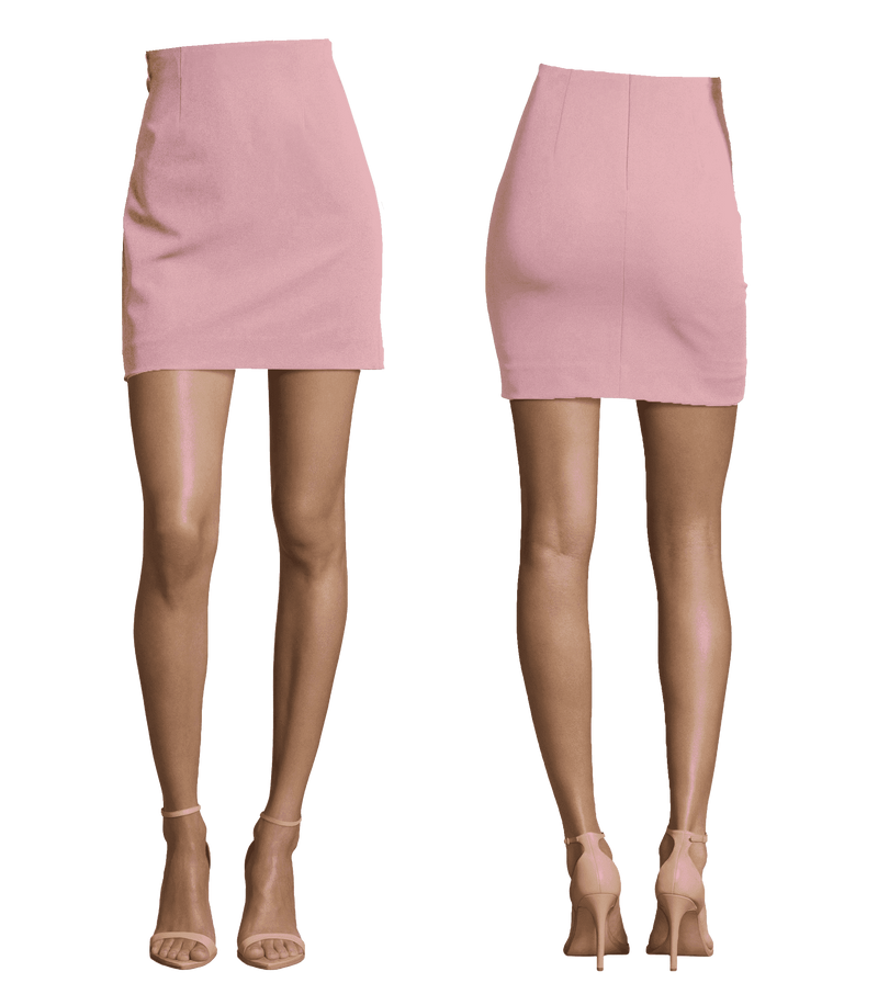 Basic Mini Length Skirt