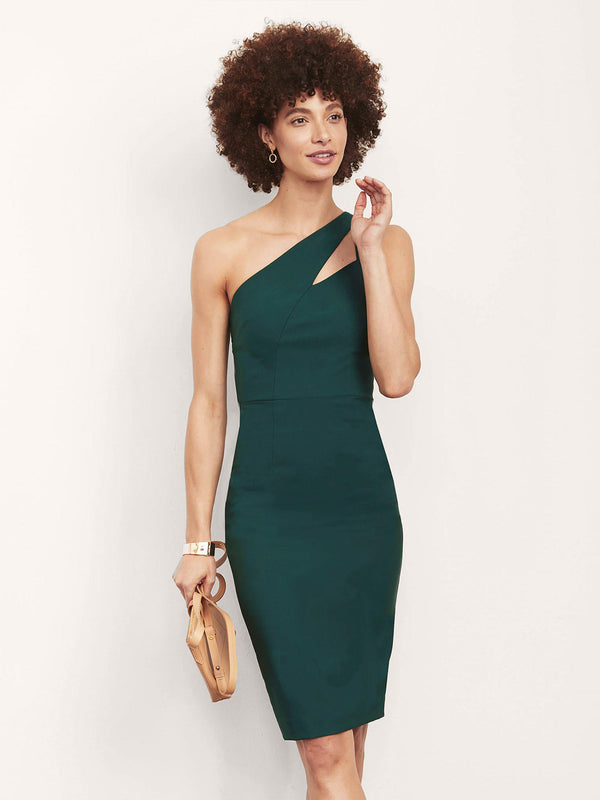 Christine One Shoulder Dress-Altress