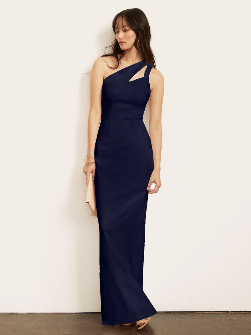 Christine One Shoulder Gown-Altress