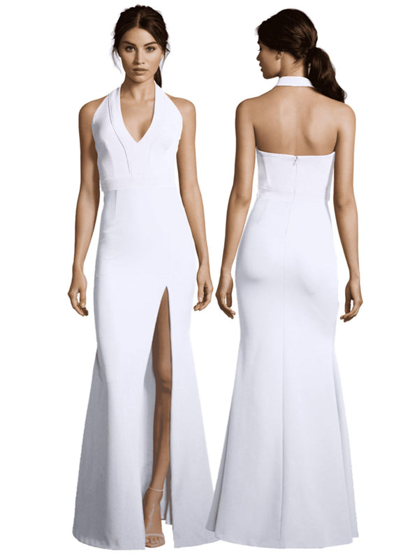 Kate Gown with Slit-Dress-Altress