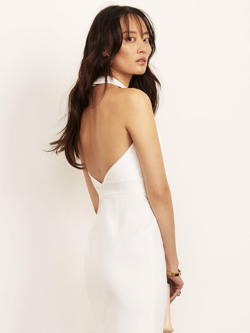 Kimberly Halter Pencil Length Dress-Dress-Altress