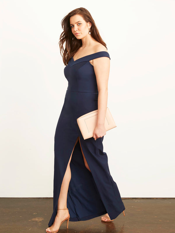 Meredith Off Shoulder Gown