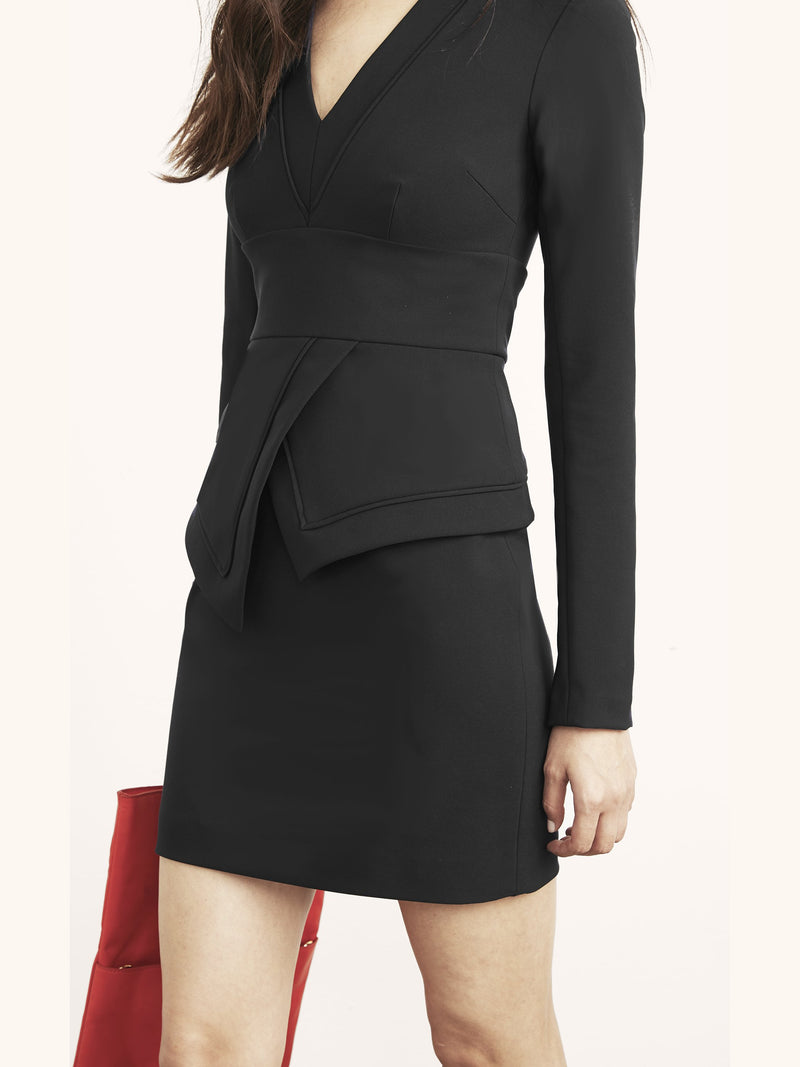 Rayna Dress with Peplum