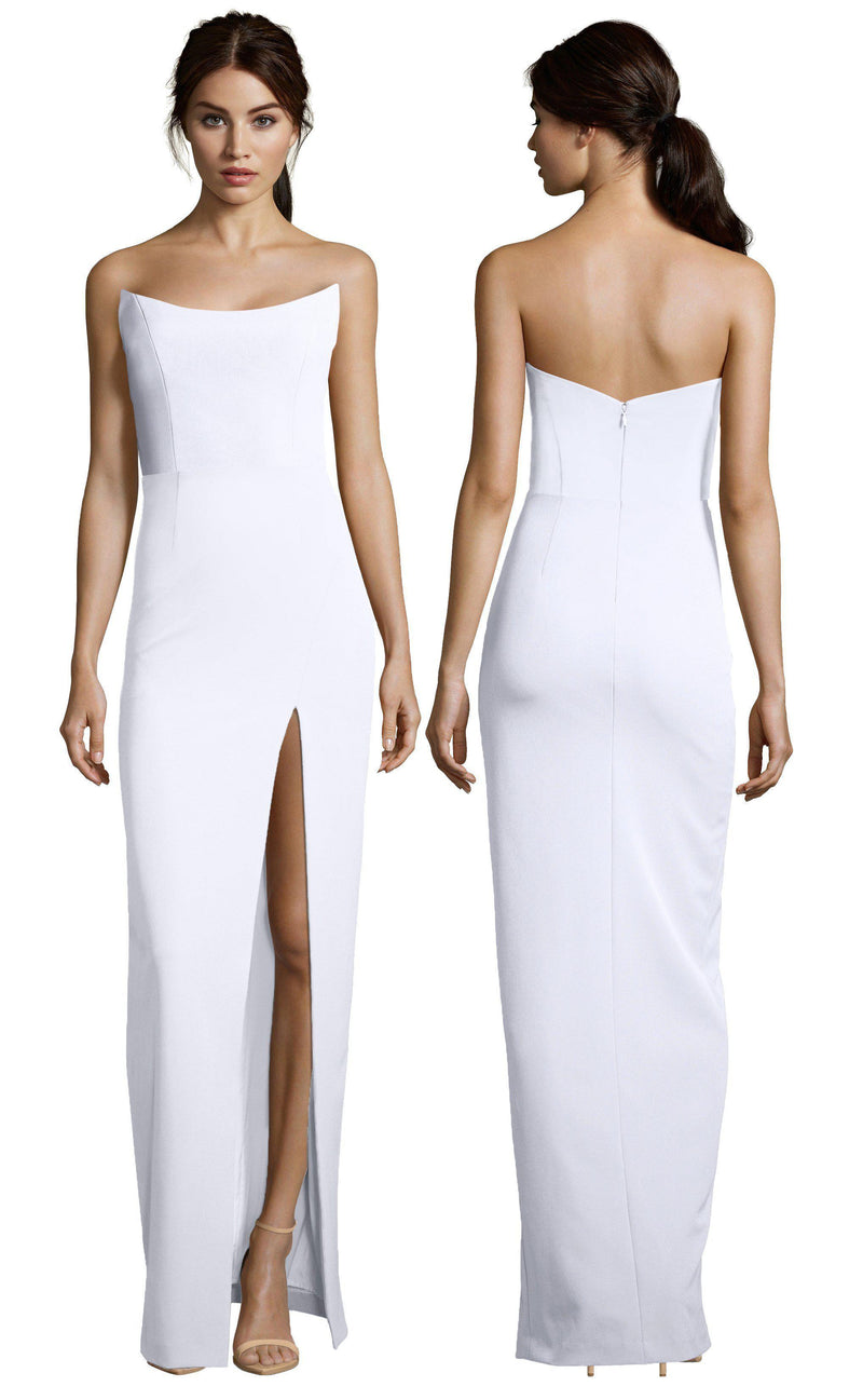 Victoria Gown with Slit-Dress-Altress