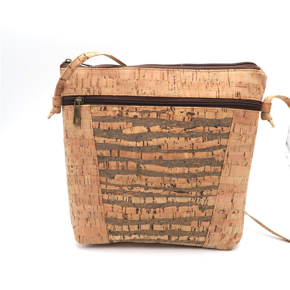Natural Cork Cross Body Bag
