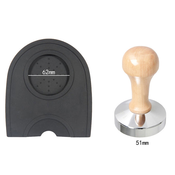 2-in-1 Nespresso Coffee Tamper Mat