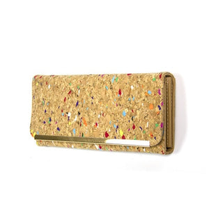 Natural Cork Ladies Wallet - 3 designs