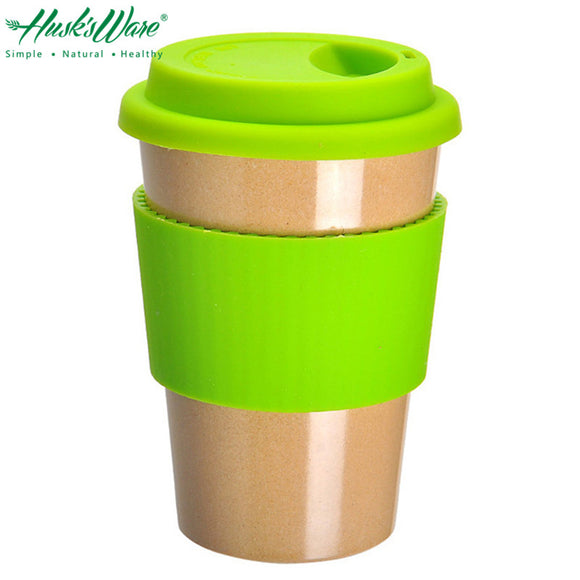 Natural Rice Husk Portable Coffee Mug