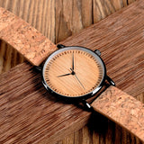 Ultra Thin Cork Watch