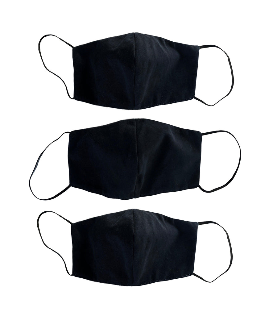 Set Of 3 Color Face Mask - PAZLIFESTYLE