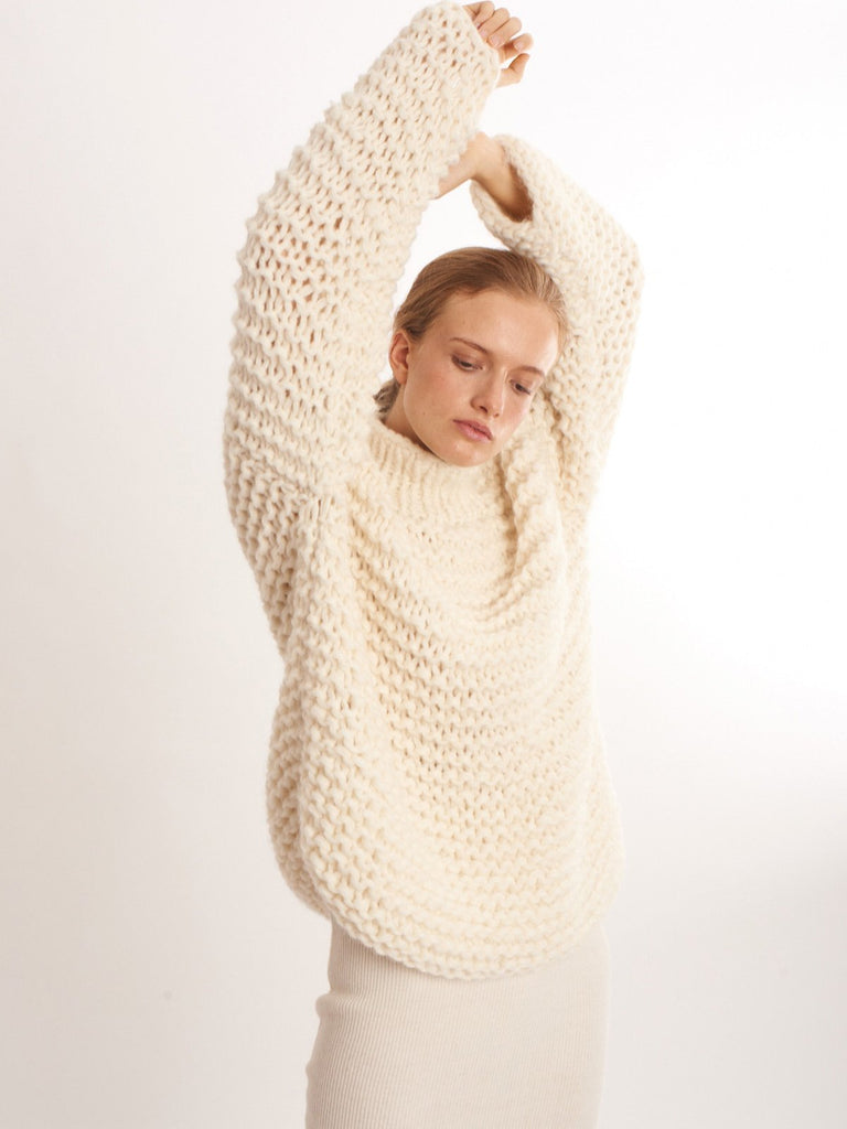 Sustainable lifestyle brand Ayni Peruvian alpaca knitwear at PazLifestyle.com