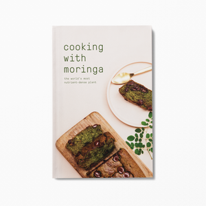 Sustainable lifestyle brand Nutu Moringa Cookbook at PazLifestyle.com