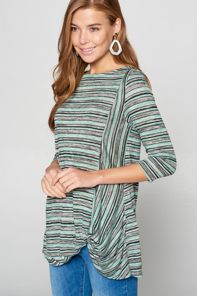 Mint Lightweight Knit Top