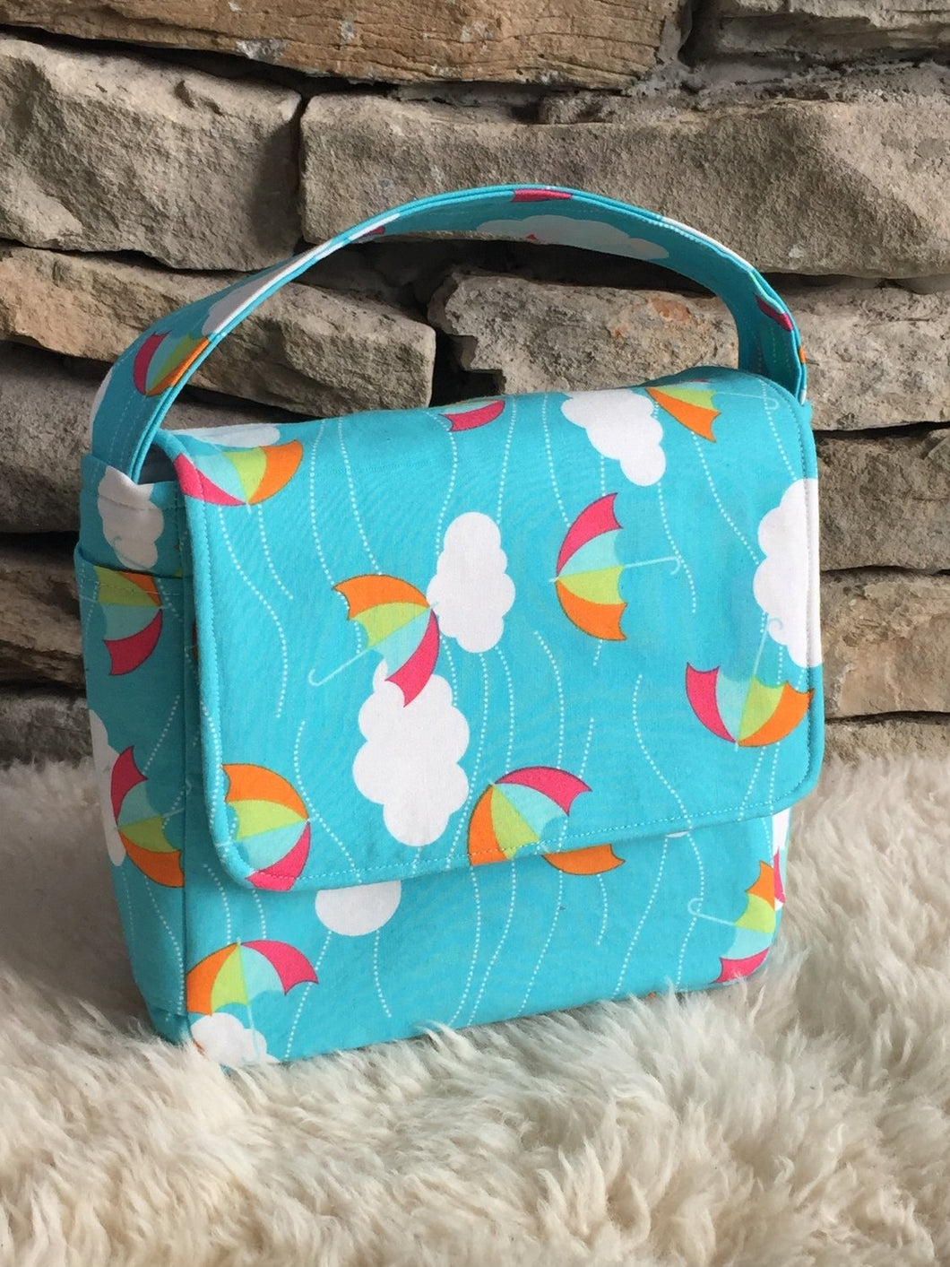 CUSTOM ORDER - Boxy Insulated Lunch Bag