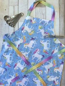 CUSTOM ORDER - Big Kid Apron