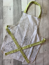 Load image into Gallery viewer, Color Me Construction Border Preschooler Apron