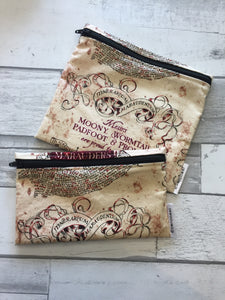HP Reusable Snack Bag Set