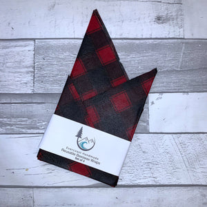 Buffalo Plaid Beeswax Wraps – Classic Set of 3