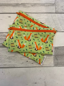 Zero Fox Given Reusable Snack Bag Set