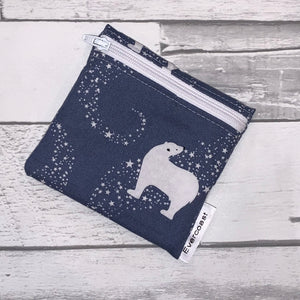 Polar Bear Reusable Mini Snack Bag