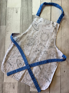 Color Me Space Preschooler Apron