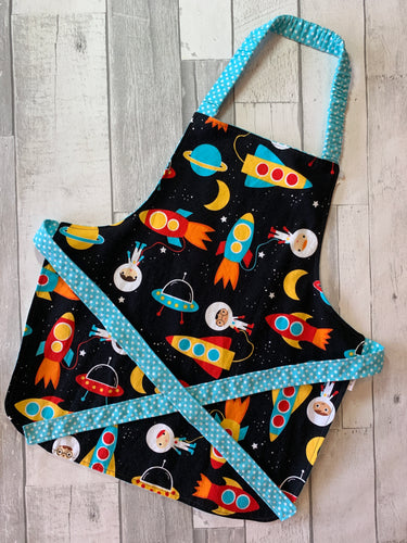 Space Toddler Apron