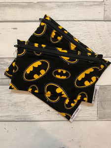 Super Hero Reusable Snack Bag Set