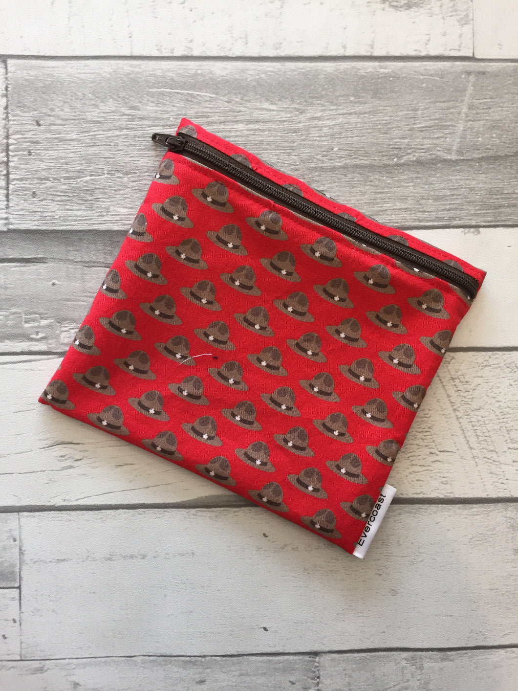 Mountie Stetson Reusable Sandwich Bag