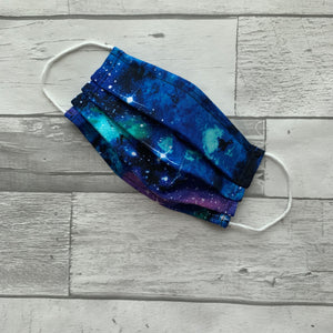 Bright Galaxy Child Face Mask