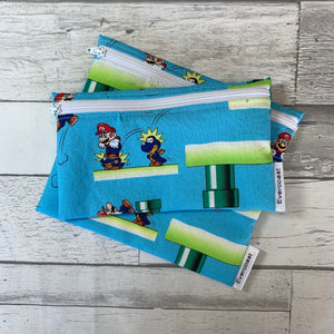 SM Pipe Reusable Snack Bag Set