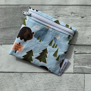 Don't Feed the Bears Reusable Mini Snack Bag
