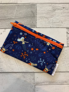 Navy Mermaid Reusable Snack Bag