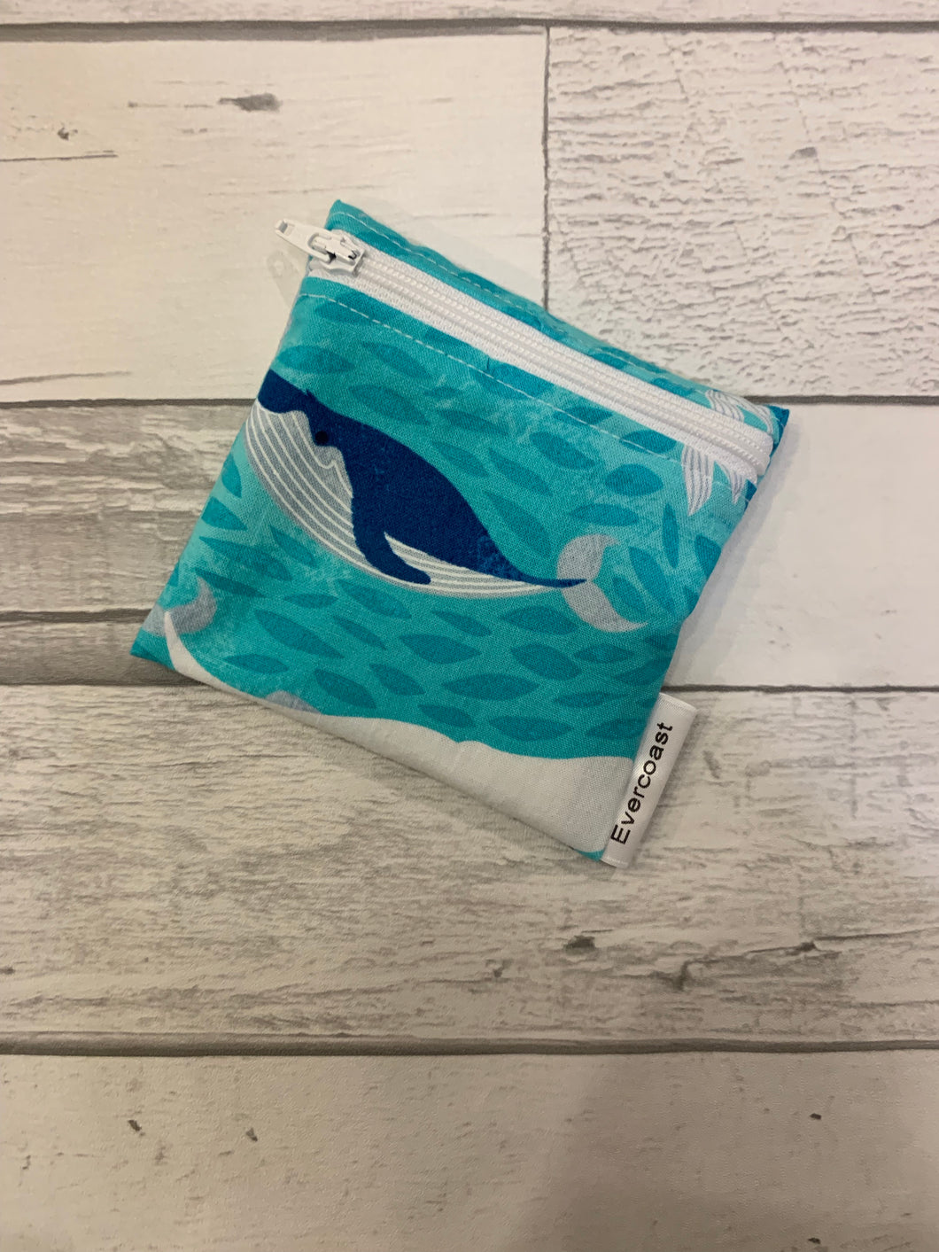 Whale Reusable Mini Snack Bag