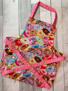Packed Donut Toddler Apron