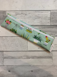 Succulent Reusable Straw/Utensil Bag