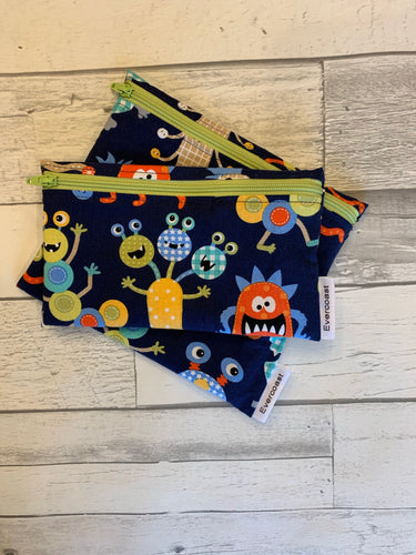 Alien Reusable Snack Bag Set