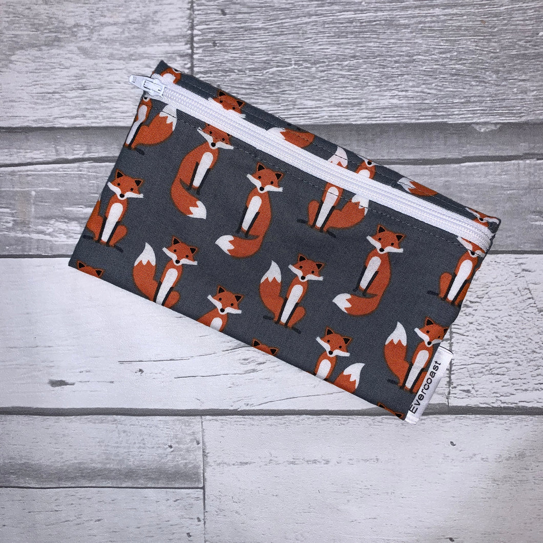 Grey Fox Reusable Snack Bag