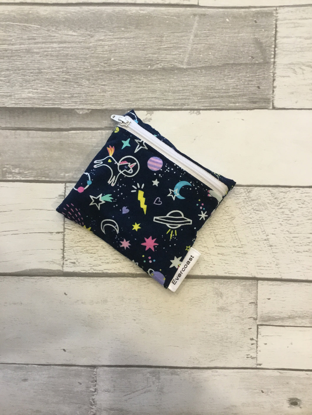 Space Unicorn Reusable Mini Snack Bag