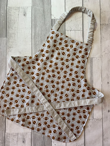 Football Toddler Apron