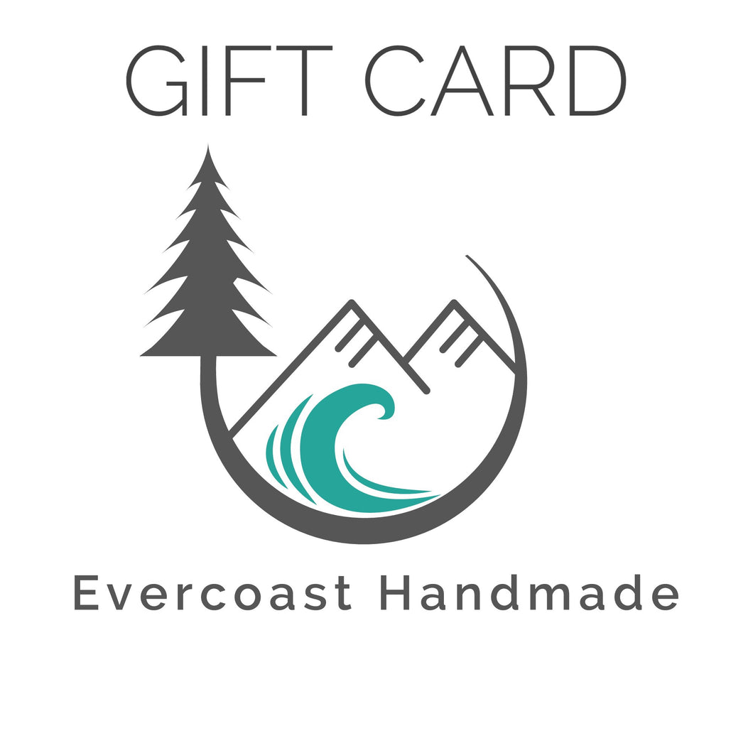 Evercoast Handmade Gift Card