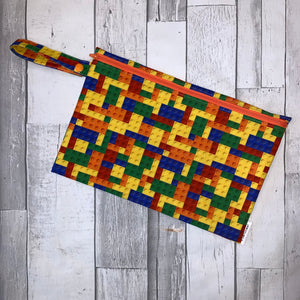 Building Blocks Small Wet Bag