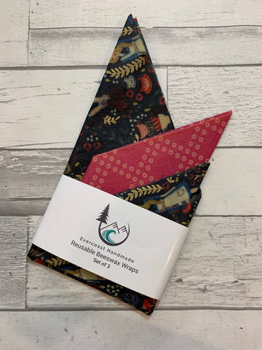 Alice Beeswax Wraps – Classic Set of 3