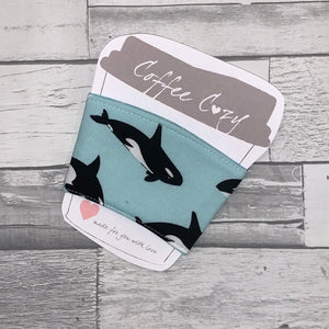 Orca Take Out Coffee Cozy