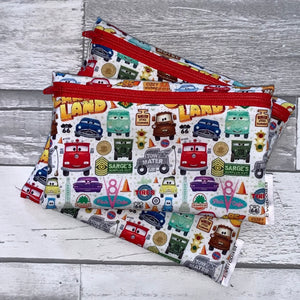 Card Land Reusable Snack Bag Set