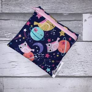 Space Owl Reusable Mini Snack Bag