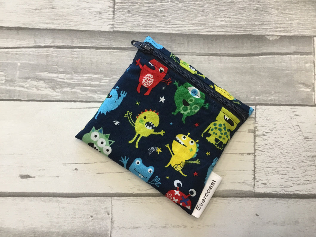 Monster Reusable Mini Snack Bag