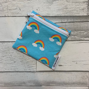 Rainbow Reusable Mini Snack Bag