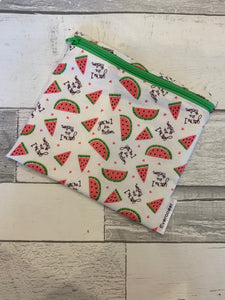 One in a Melon Reusable Sandwich Bag